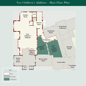 Children's Addition Main Floor Plan