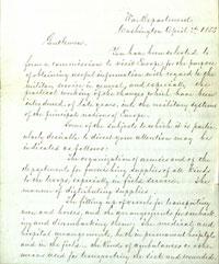 Jefferson Davis Letter Image