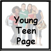 young teen page icon